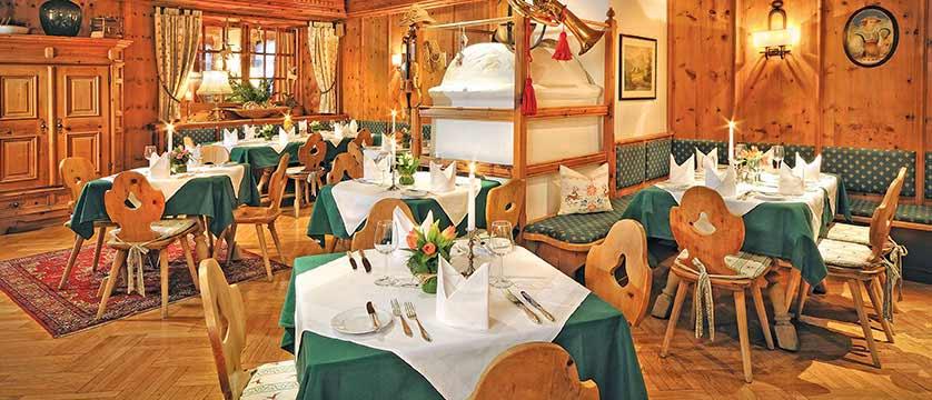 Hotel zum Hirschen, Zell am See, Austria - dining room interior.jpg